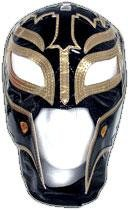 Wwe Rey Mysterio Child Costumes (WWE Rey Mysterio Kid Size Replica Black & Gold Mask)