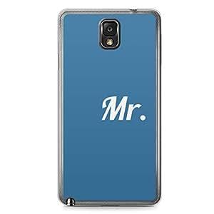 Mr Samsung Note 3 Transparent Edge Case