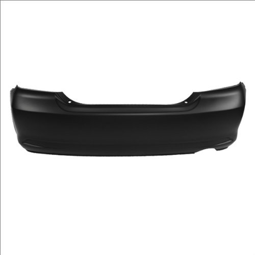 MBI AUTO - Painted to Match, Rear Bumper Cover Replacement for 2005-2010 Scion TC Coupe 05-10, ()