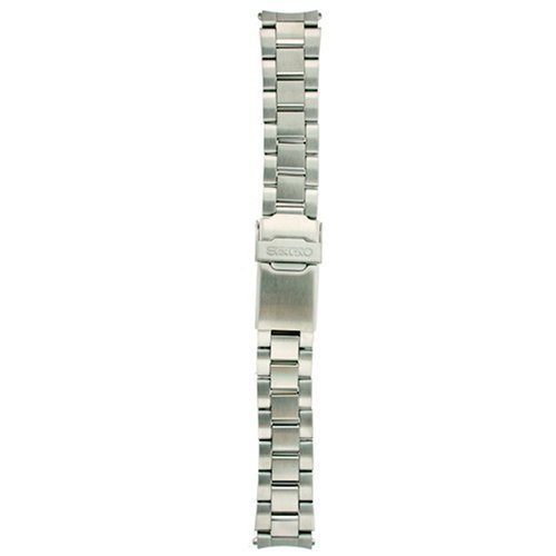 Seiko Mens Band (Seiko Original Stainless Steel Watch Band 18mm and Genuine Seiko Spring Bars)