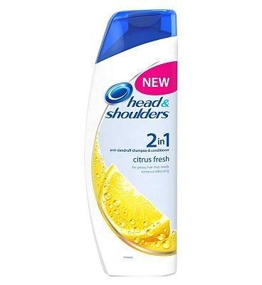 & Citrus Head Shoulders Shampoo (Head & Shoulders Citrus Fresh 2in1 Shampoo & Conditioner (450ml))