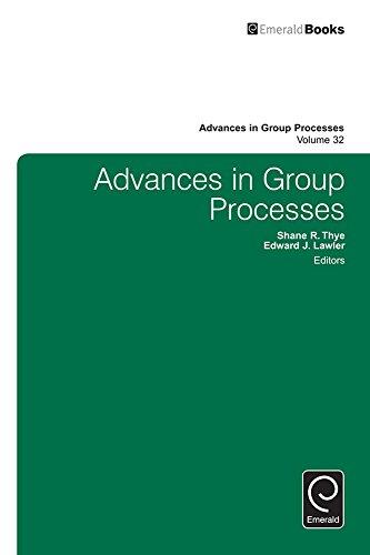 Download Advances in Group Processes: 32 Pdf