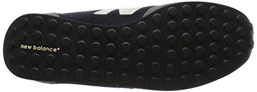 Nuovo Equilibrio Unisex-adulto 410 Scarpe Da Corsa Multicolore (grigio / Blu Scuro)