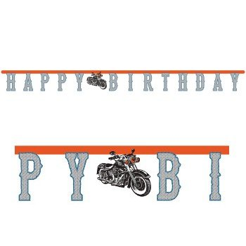 Cycle Shop Happy Birthday Banner by Creative Converting -