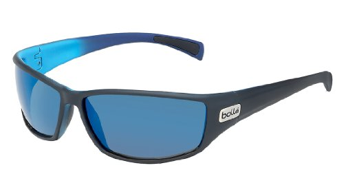Bolle Python Sunglasses, Polarized GB10 AF, Matte ()