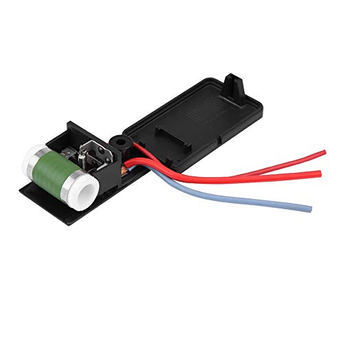 Blower Motor Resistor-Car Engine Cooling Radiator Fan Motor Resistor 17117541092R: