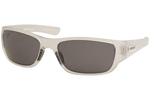 Revo Unisex RE 4058X Mason Wraparound Polarized UV Protection Sunglasses Wrap, Crystal Frame, Graphite ()