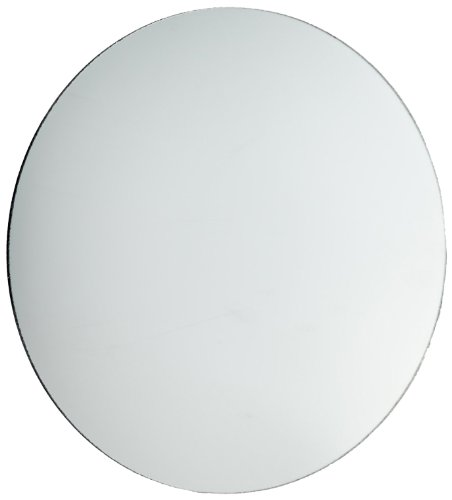 American Educational Concave Spherical Silver-Backed Glass Mirror with Ground Edges, 7.5cm Diameter, 7cm Focal Length (Bundle of 5)