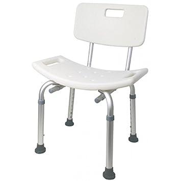 stuhl fr dusche badewanne mit rckenlehne sitz plus tragkraft 135 kg - Sitz Stuhl Fur Dusche