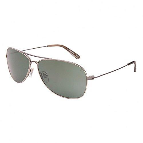 6f6125b6409 RODENSTOCK R 1308 D Aviator Silver full rim sunglass for men with  transparent lens