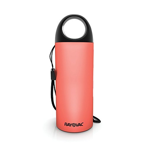 Rayovac PS99CL Power Protect Safety Siren, Flashlight, & Portable Charger, Coral by Rayovac
