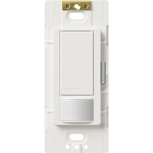 Lutron Electronics Ms-Ops2H-Wh Maestro Small Room Occupancy, Sensor Switch, White