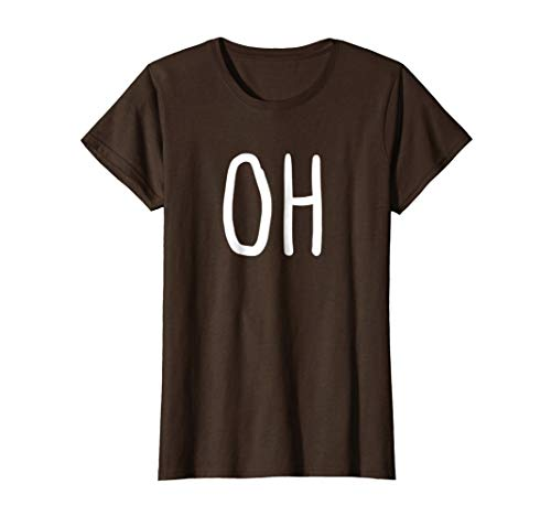 Womens Oh Deer Trendy Halloween Costume Tee ()
