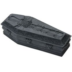Gargoyle Coffin Box Monster Gothic Container for $<!--$16.49-->