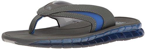 Reef Mens Boster Sandal Grigio / Blu