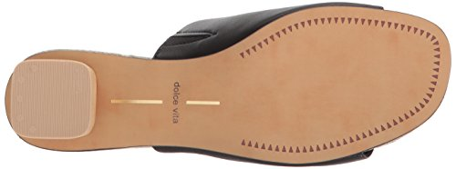 Sandal Vita Slide Kaira Black Dolce Leather Women's AOHwqqx7