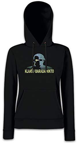 Hoodie Para Klaatu Con Capucha Sudadera Nikto Mujer Barada E4qZTqOnU