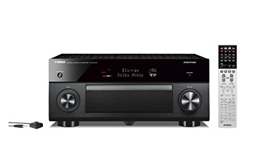 Yamaha AVENTAGE Audio & Video Component Receiver, Black , Wo
