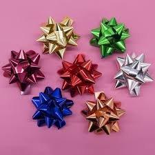 500 stelle coccarde c/adesivo metallizzate splendid da 6, 5 mm brizzolari