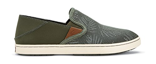 OLUKAI Pehuea Shoes - Women's Dusty Olive/Palm 8