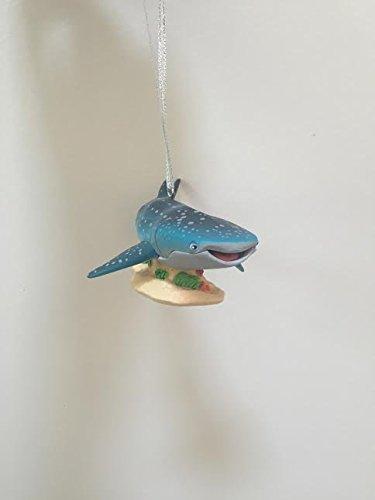Disney Finding Dory Destiny Whale Shark PVC Figure 4'' Christmas Tree Ornament