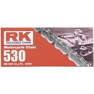 RK 530 M Standard Chain - 108 Links , Chain Type: 530, Chain Length: 108, Chain Application: Offroad 530X108 RK-M ()