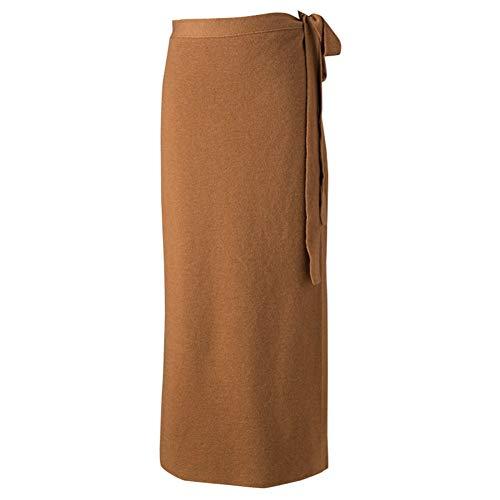 Tricoté Femme Nouveau Demi Moyen Jupe Hiver Pièce Automne Seule Long Llfusm Coton Une Cubique fyYb7g6