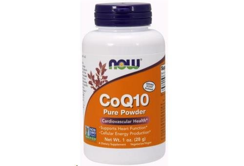 NOW CoQ10 Pure Powder 1 Ounce