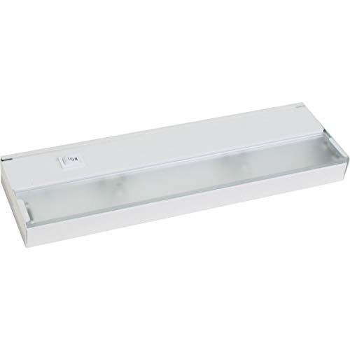 Progress Lighting P7033-30WB 2-Light 120 Volt Xenon Undercabinet, White 12 Inch Xenon 2 Light