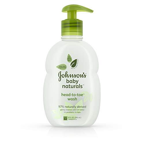 Johnson's Natural Head-To-Toe Safe Baby Wash, 9 Fl. Oz.