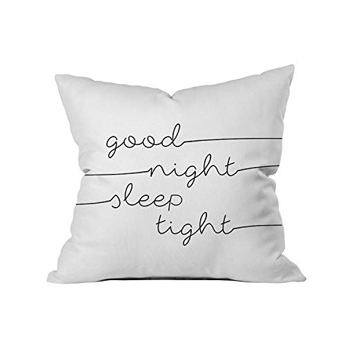Oh, Susannah Good Night Sleep Tight 18x18 Inch Throw Pillow