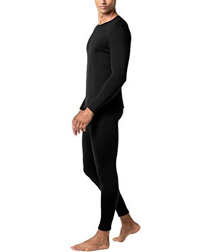 Pantaloni Al Lightweight Lunghe Maniche Senza Caldo Tiene Ti shirt M11 amp; Invernali Stress Set Uomo Nero Intimo Termico T Lapasa xTYZO7n