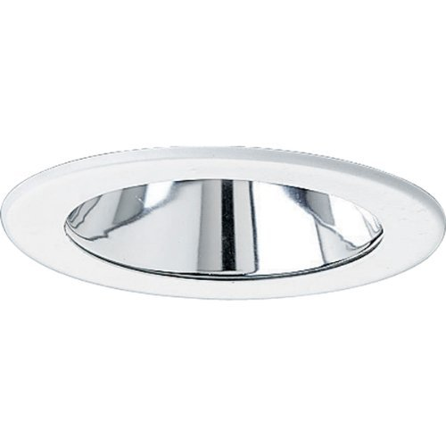 Progress Lighting P8056-21 Clear Alzak Ic Trims with 360 Degree Positioning That Tilt 30 Degrees with 5-Inch Outside Diameter, Specular Clear by Progress Lighting