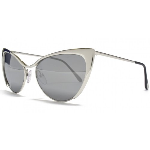 Tom Ford Sunglasses - Nastasya / Frame: Shiny Palladium Lens: Smoke - Ford Sunglasses 2012 Tom