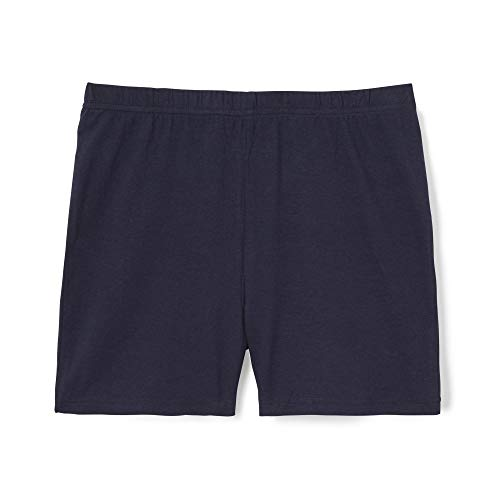 French Toast Girls' Toddler Stretch Kick Short, Navy, 4T