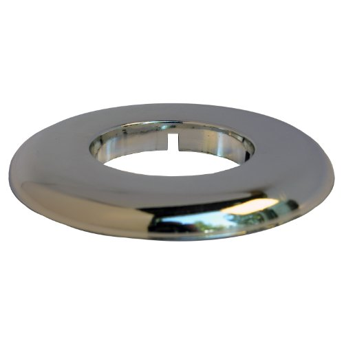 LASCO 03-1591 Floor and Ceiling Flange, Fits 1-1/2-Inch Iron Pipe, Chrome Plated Plastic