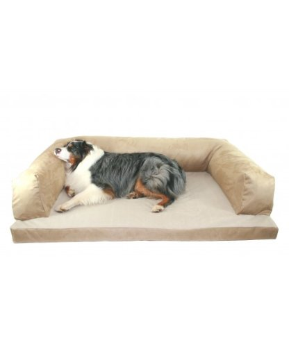 Baxter-Couch-Bolster-Dog-Bed-Color-Poly-Suede-Sage-Size-Extra-Large-54-L-x-34-W