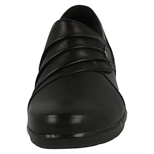 Black Roxanne Hope 7 Clarks Shoe CLARKS 0 Womens E wgx7XqwI