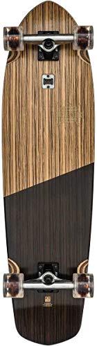 (GLOBE Skateboards Blazer XL Longboard Complete Skateboard, Natural/Black)