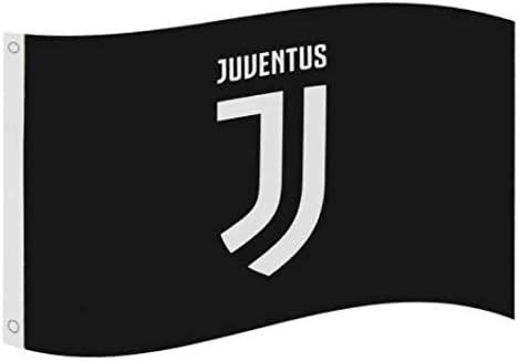 Juventus Turin Club Crest Flagge, ca. 152cm x 91cm