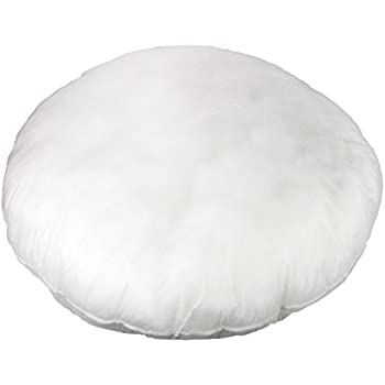 Amazon Round Pillow Insert Form 40 Diameter Home Kitchen Fascinating How To Cover A Round Pillow Form