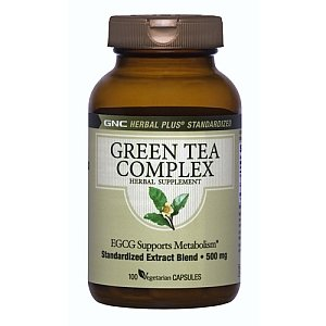 GNC Green Tea Complex 100 Caps 500mg