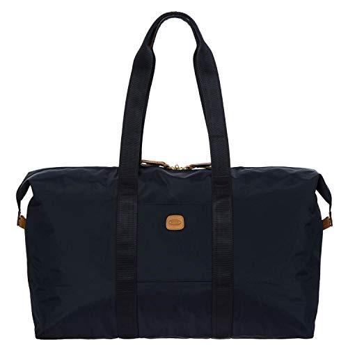 Bric s x-Travel 2.0 22 Inch Cargo Overnight Weekender Folding Duffle Bag Duffel, Navy, One Size