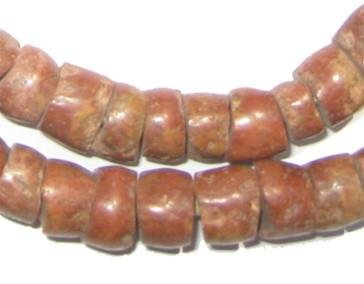 - Natural Bauxite Beads - Full Strand of African Stone Beads - The Bead Chest