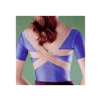 Oppo Medical Elastic Posture Aid /Clavicle Brace (Unisex; Natural), Medium