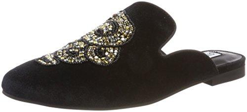 Steve Madden Women's Hugh Loafers Black (Black 01001) Hao8B