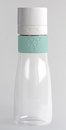 SANS XL 32oz. Smoothie and Shake Preserver and Vacuum Sealed Glass Carafe in Mint Green
