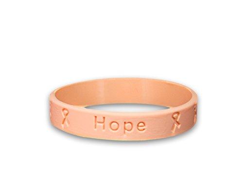 Uterine Cancer Awareness Silicone Bracelet - Adult Size (Retail) ()