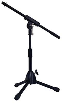 Stage Rocker Powered by Hamilton SR610121B Lo-Profile Mic Boom Stand - Black from Stage Rocker