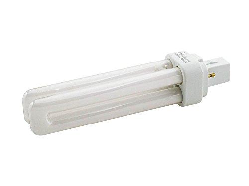 TCP 18W 2 Pin Neutral White Quad Double Twin Tube CFL Bulb - Double Twin Tube Cfl Bulb